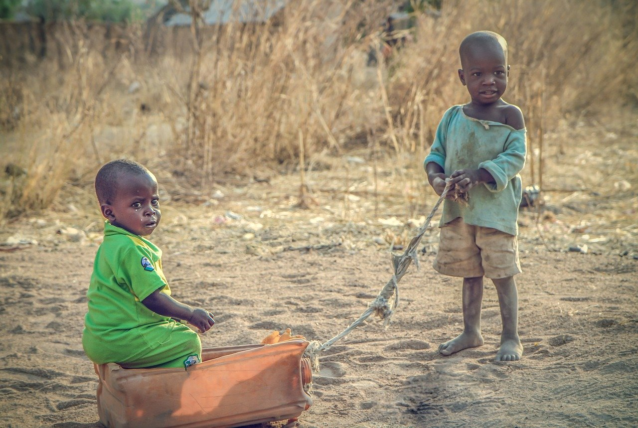 Children as Victims of STDs in Africa Image